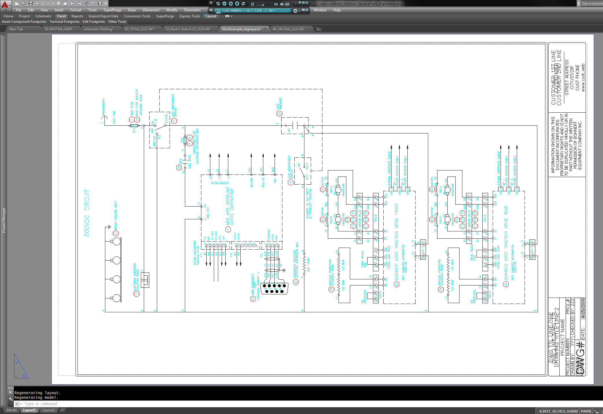 Solved Ladder Orientation Autodesk Community Autocad Electrical Free Body Diagram Rotated To Horizontal Position A
