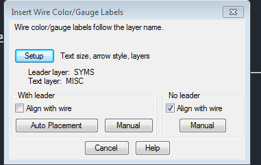 Wire gauge label wire center solved wire color gauge label autodesk community autocad electrical rh forums autodesk com wire gauge electric keyboard keysfo Gallery