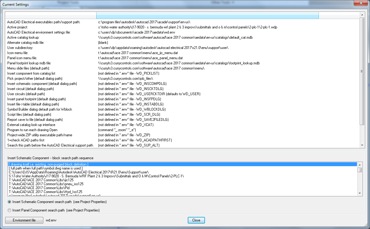 Autocad electrical not using the correct database autodesk community buycottarizona Images