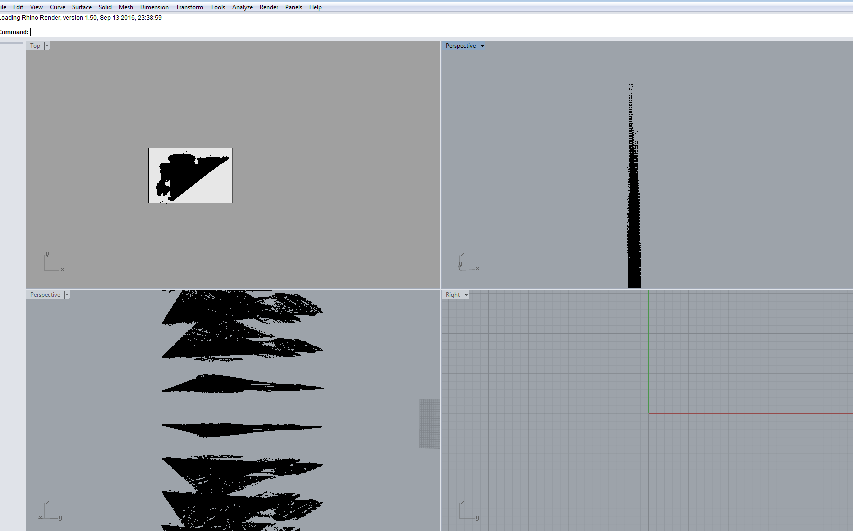 Exporting Autodesk Recap Point Cloud (rcp) to Rhino 5 broken