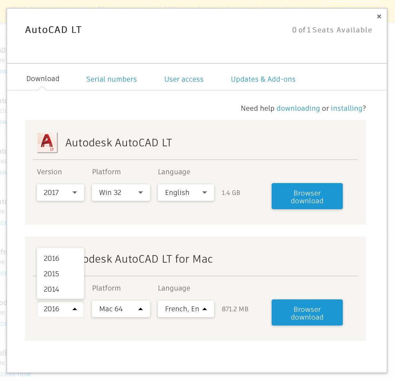 download autocad 2015 lt