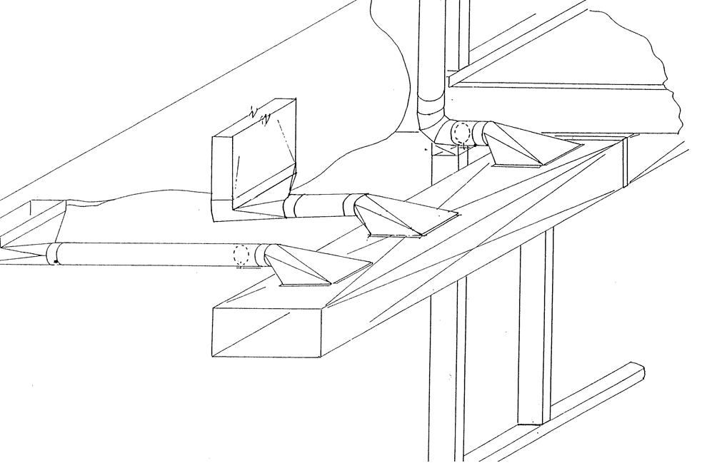 Hvac Duct Drawing Image