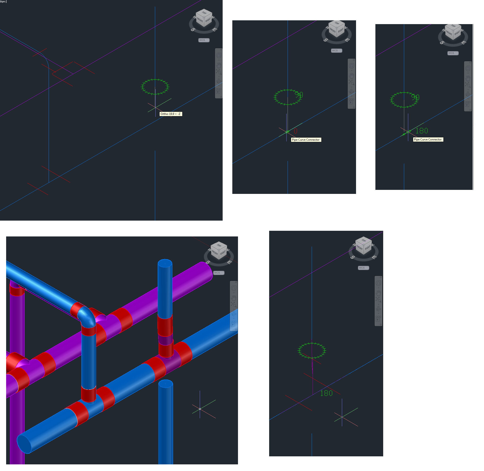 Drawing Pipe Layouts Autodesk Community Autocad Mep Piping Layout Tutorial