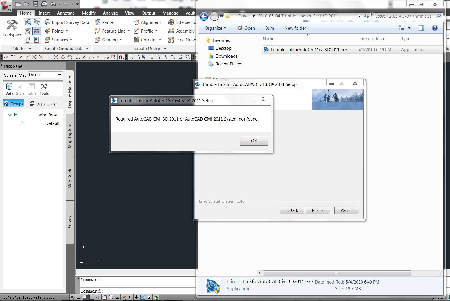 Trimble Link C3D2011 Install Problem - Page 2 - Autodesk Community