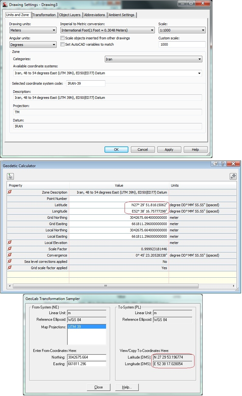 Solved: Lat Long Conversion in Civil 3D Not Correct - Autodesk