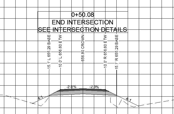 Section Hatch - Autodesk Community- Civil 3D