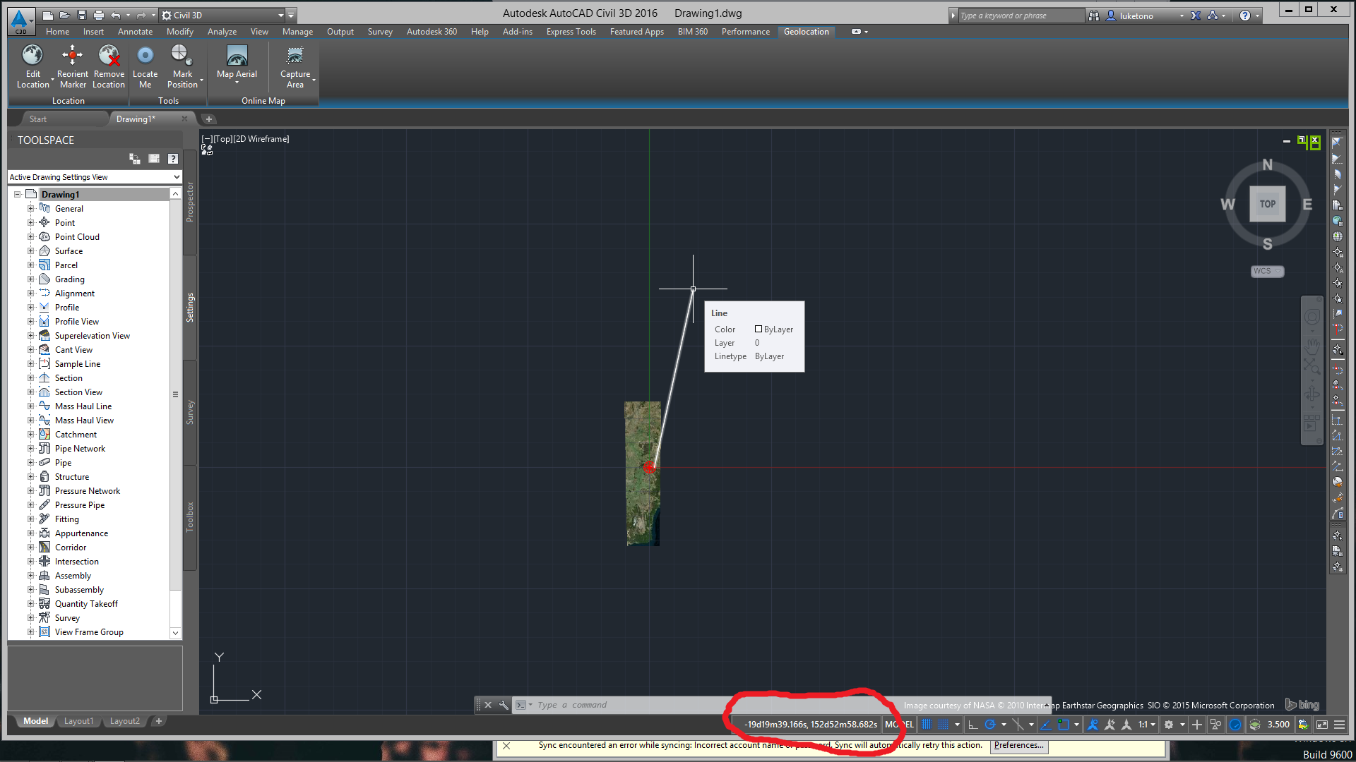 Drawing Lines In Autocad Using Coordinates : Solved line by latitude longitude problem autodesk community