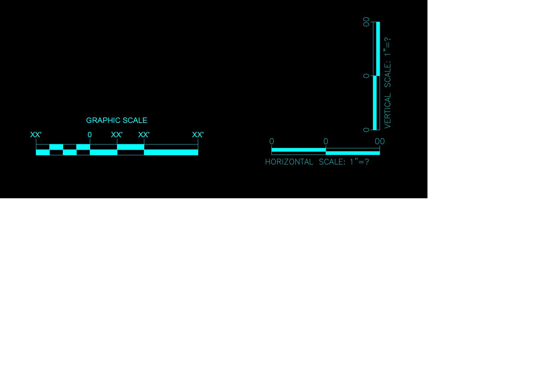 dynamic scale bar - Autodesk Community- Civil 3D