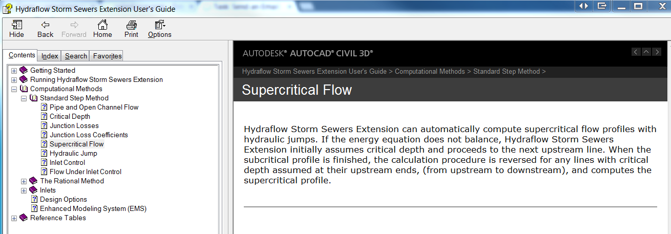 hydraflow storm sewers 2014 hgl problem autodesk community civil 3d rh forums autodesk com  hydraflow storm sewers 2005 manual