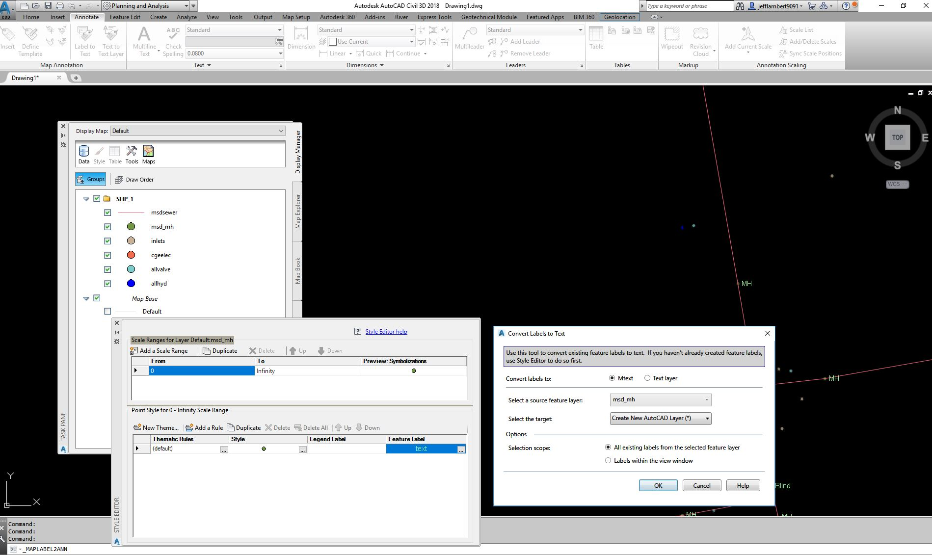 Solved: Labeling Shape File Features from Object Data - Autodesk