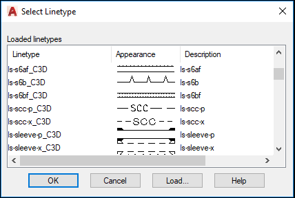 Microstation Line Types - Autodesk Community- Civil 3D