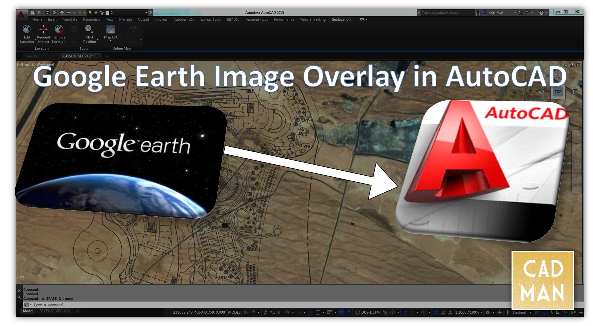 Solved: Importing Google Earth Image - Autodesk Community