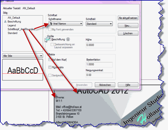 Solved: Arial Narrow with Windows 7 - Autodesk Community