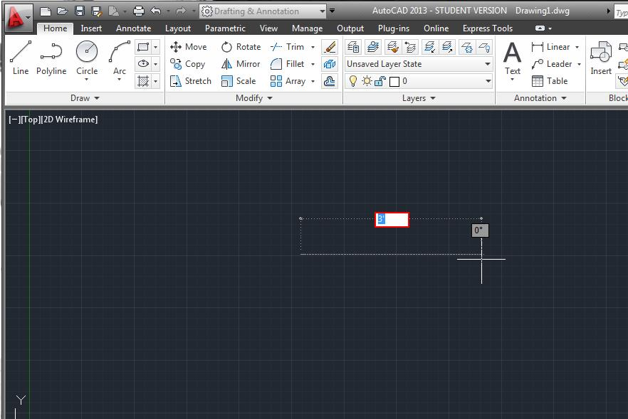 Drawing Lines In Autocad Using Coordinates : Solved autocad won t let me specify the length of a line