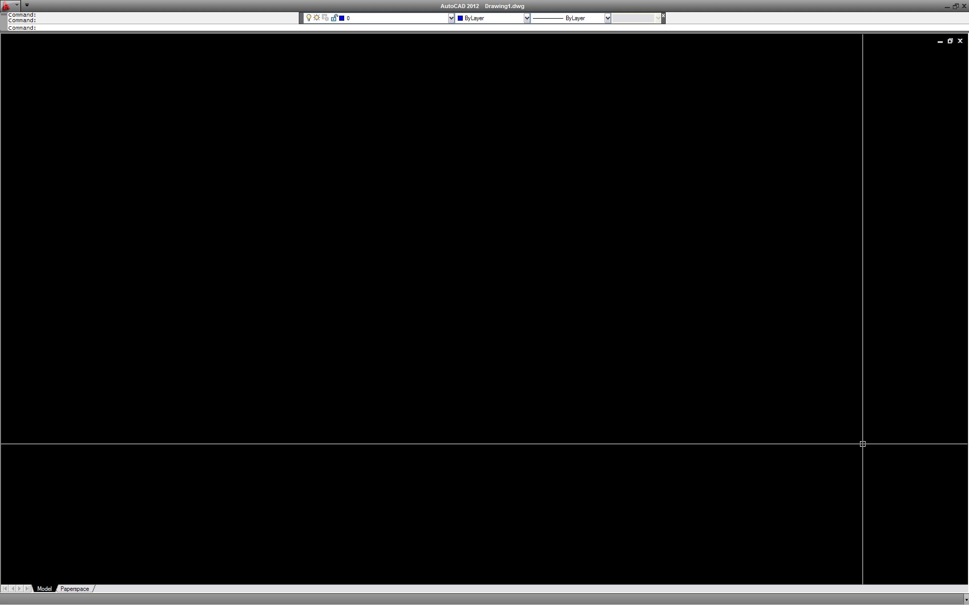 autocad full screen