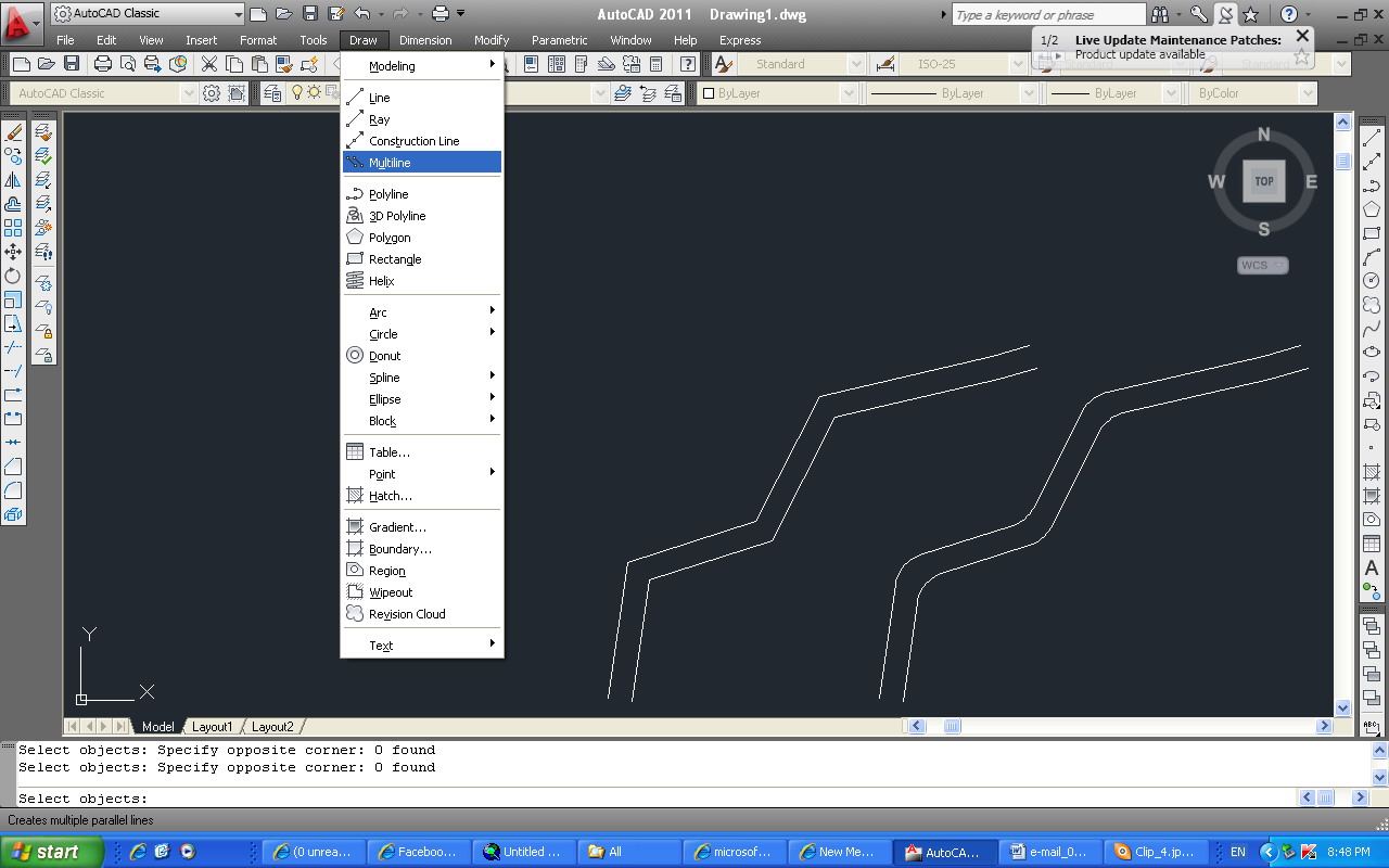 Drawing Smooth Lines In Autocad : When using the command multiline autodesk community autocad