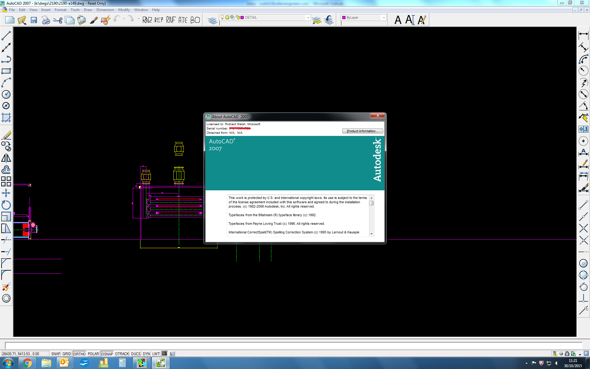 autocad 2007 compatibility issues with windows 10