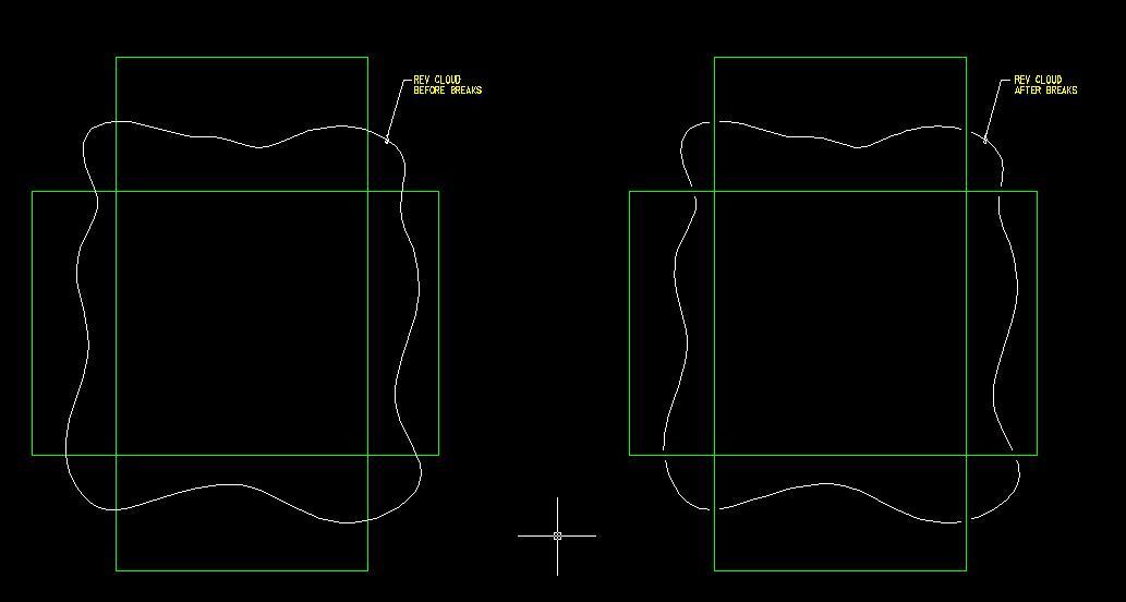 Multiple break points on a line - Autodesk Community- AutoCAD