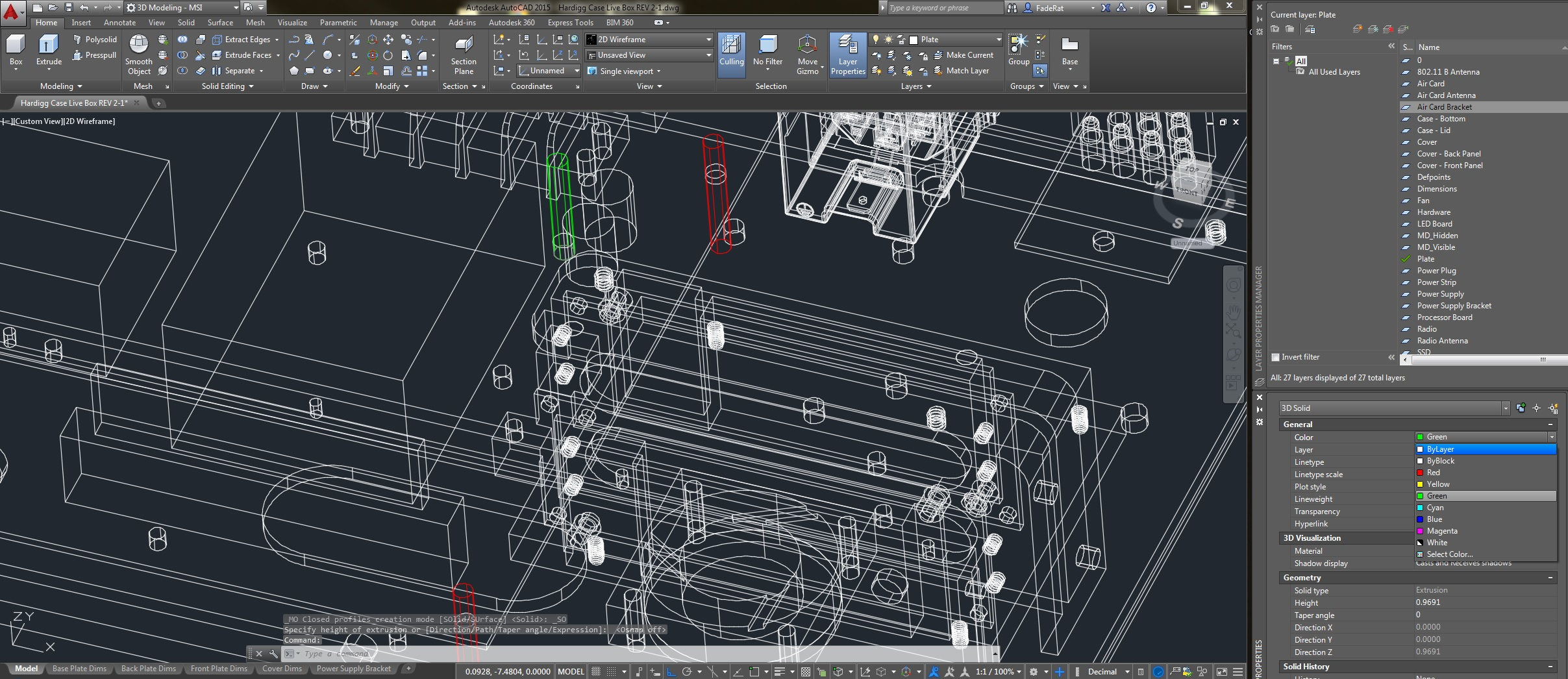 AutoCAD 2015 freezes when changing 3D object color - Autodesk ...