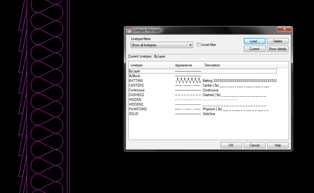 autocad schraffur download