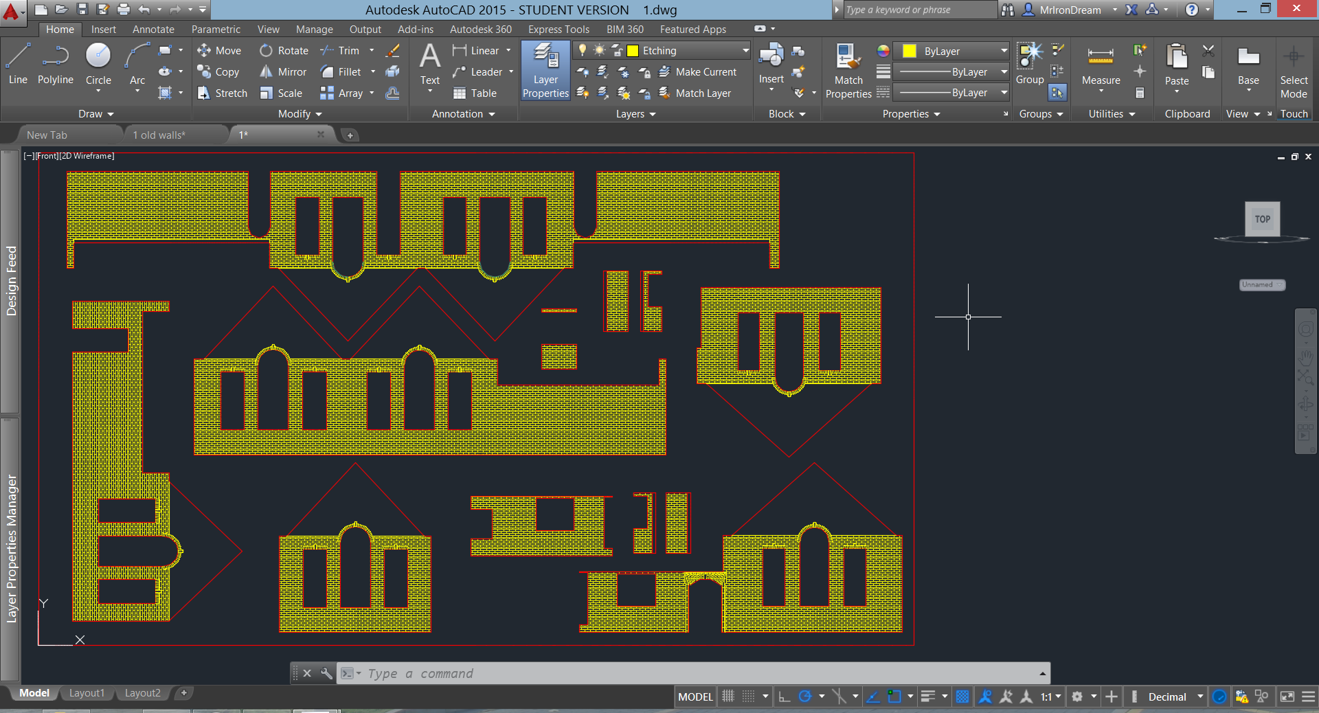 Some lines not read by APS ETHOS (laser cutting program) - Autodesk