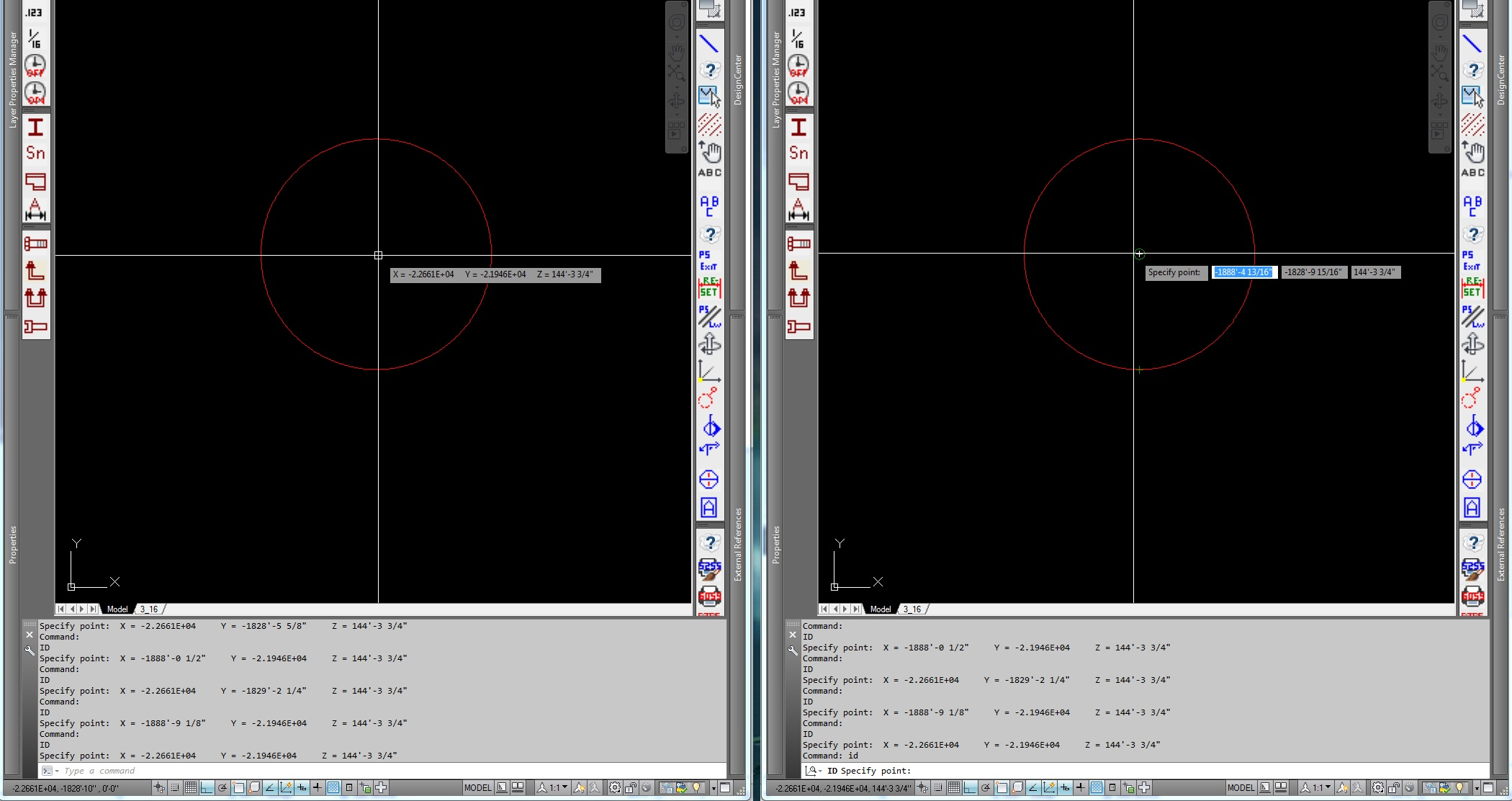 Drawing Lines In Autocad Using Coordinates : Coordinates issue autodesk community autocad