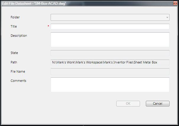 Edit file datasheet dialog box autodesk community.