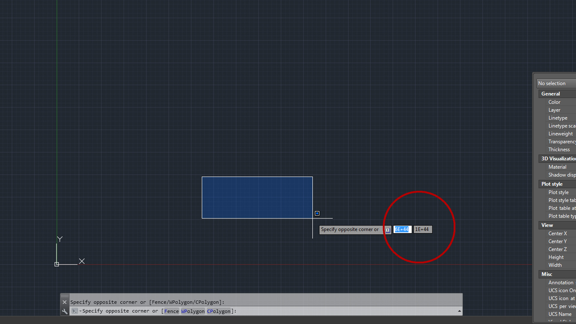 Drawing Lines In Autocad Using Coordinates : How to disable or turn off the coordinates when using line command