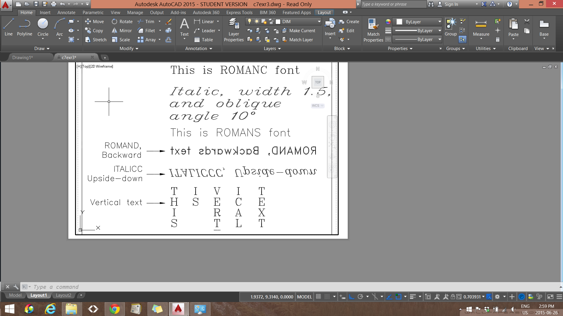 Solved: Text not goingt Backwards or Upside Down - Autodesk