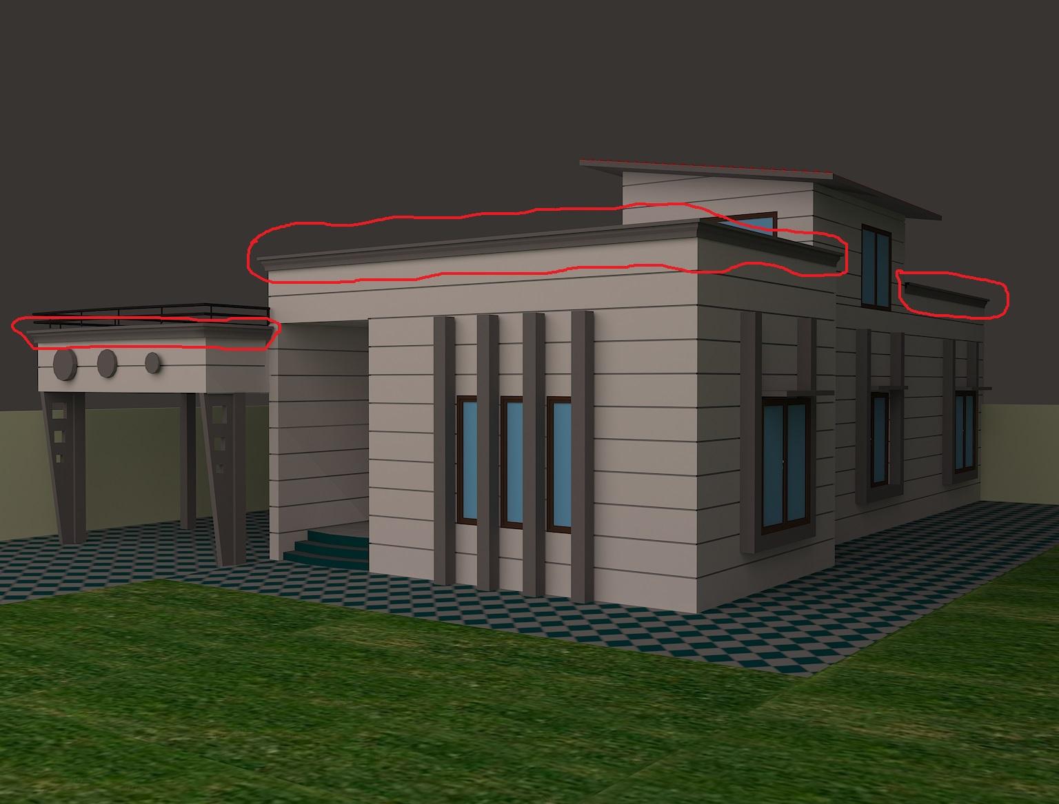 Parapet Design Autodesk Community Autocad