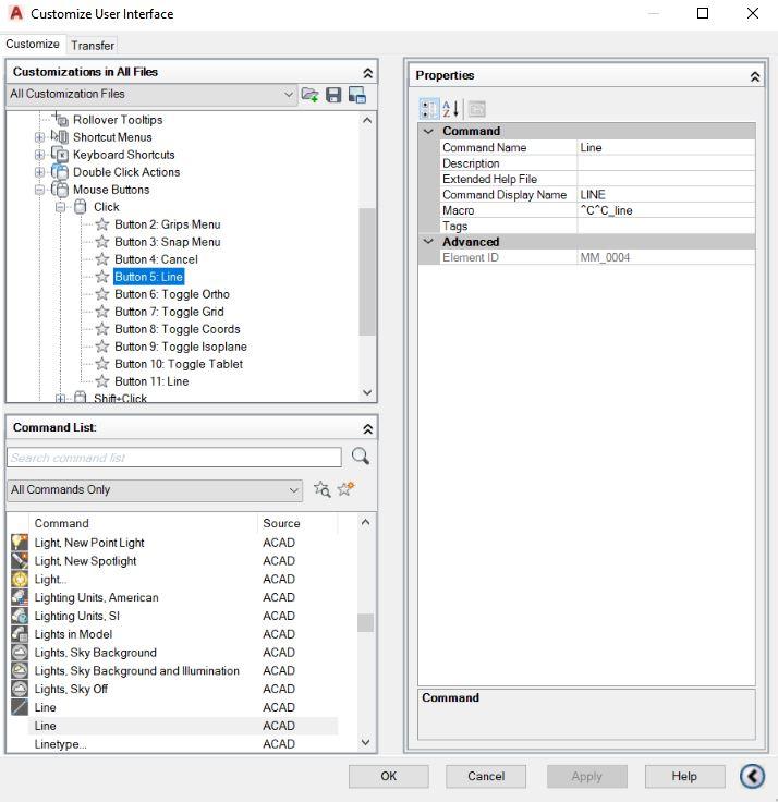766c51c97b9 Custom mouse clicks - Autodesk Community- AutoCAD