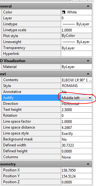 Solved: Block attributes and text shift position in AutoCAD
