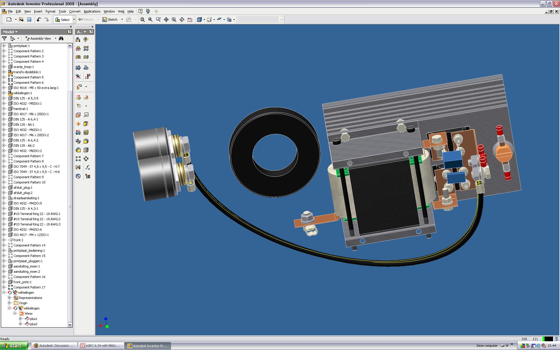 cable winding - Autodesk Community- Inventor