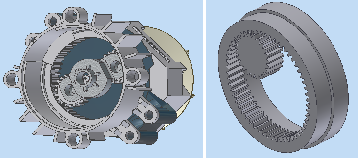 Internal Gears? - Autodesk Community- Inventor