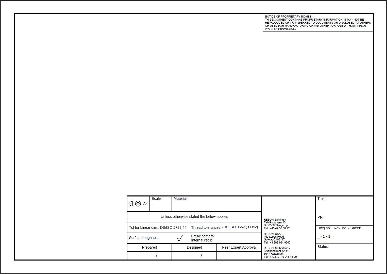 Exelent Autocad Templates Collection - Professional Resume Examples ...