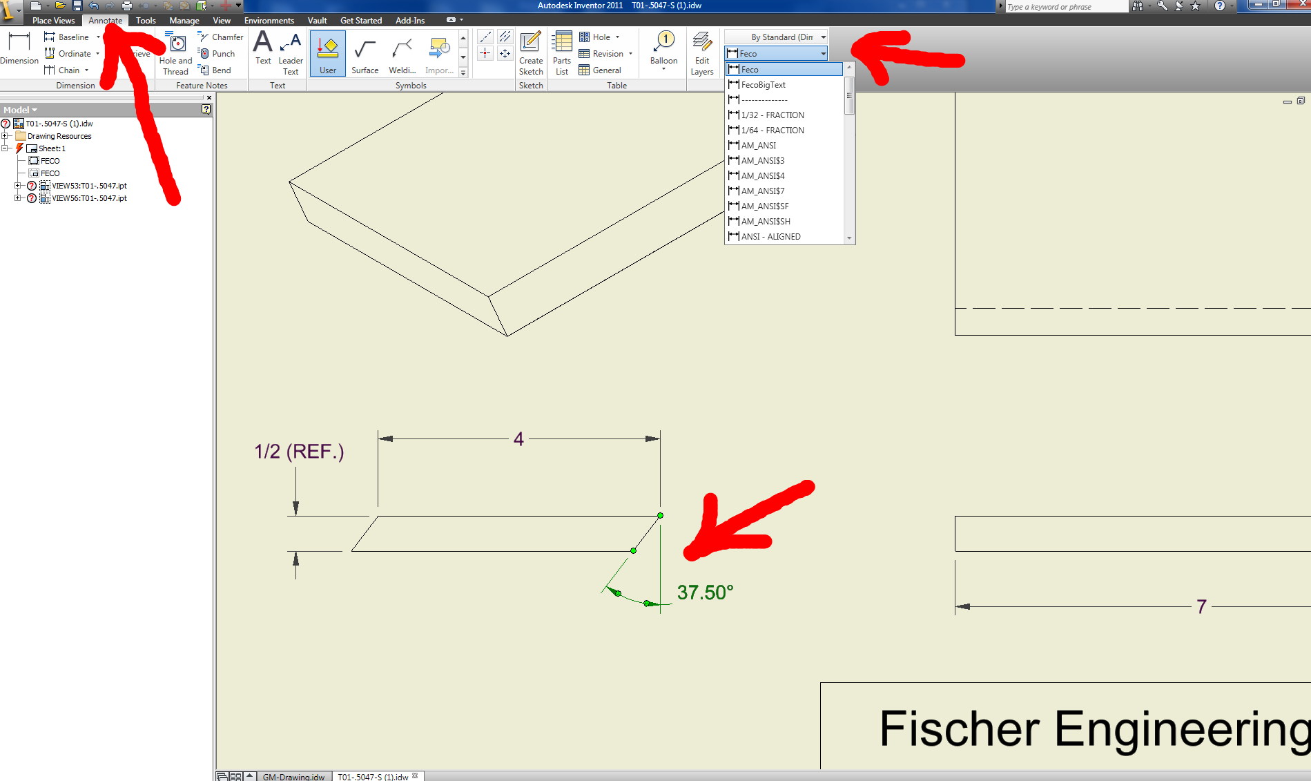 Solved: Dimension font size in a drawing - Autodesk Community