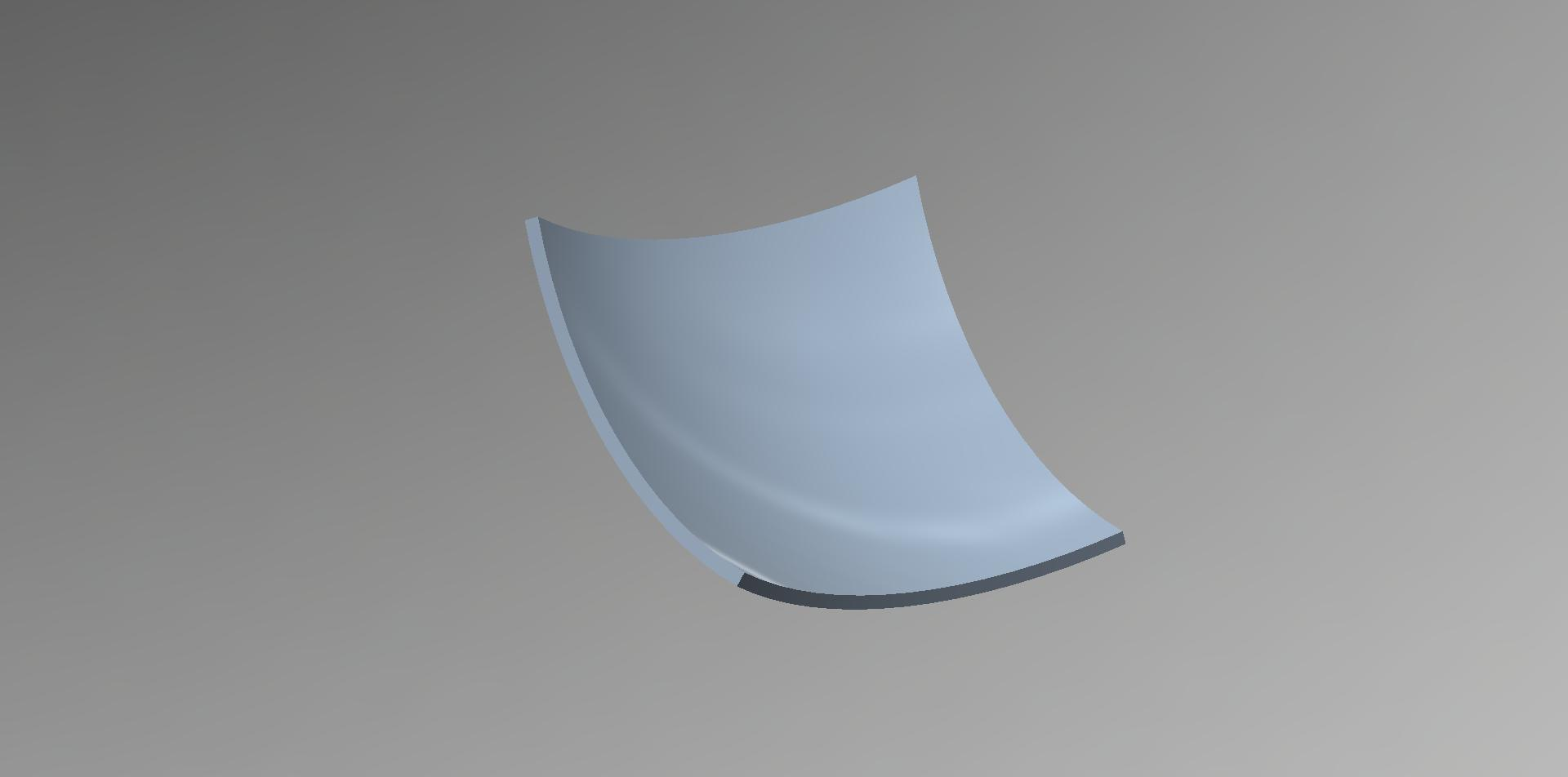 parabolic reflector - Autodesk Community- Inventor