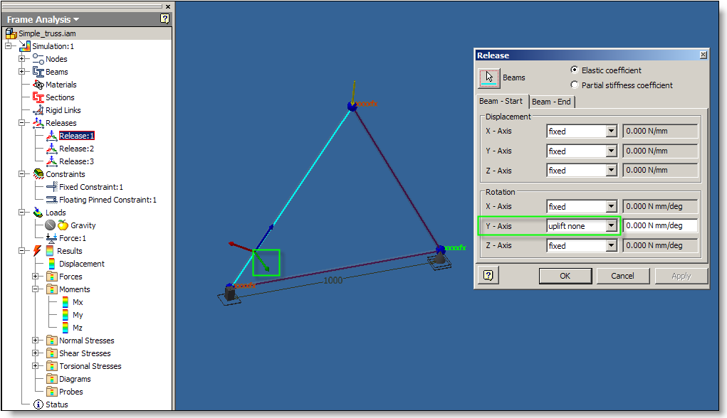 Solved: Truss analysis using