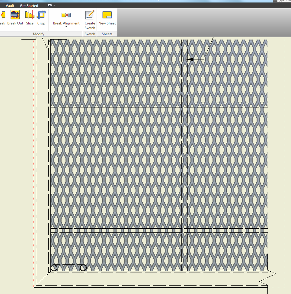 Solved: Creating Expanded Metal Mesh - Autodesk Community- Inventor