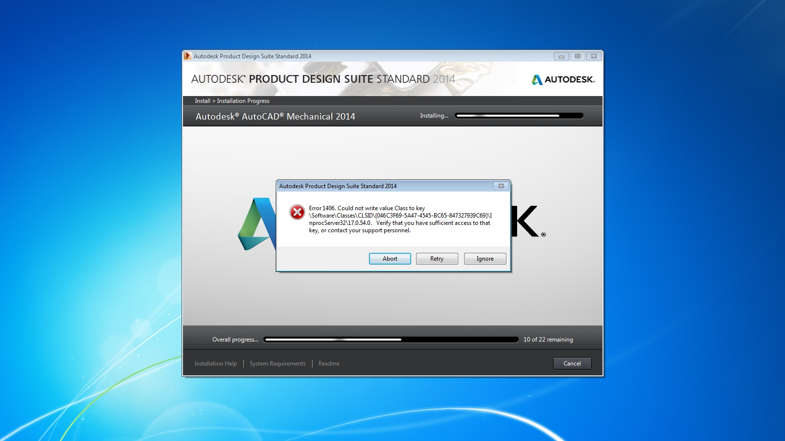 Solved  Inventor 2014 Crashes At Luanch After Install