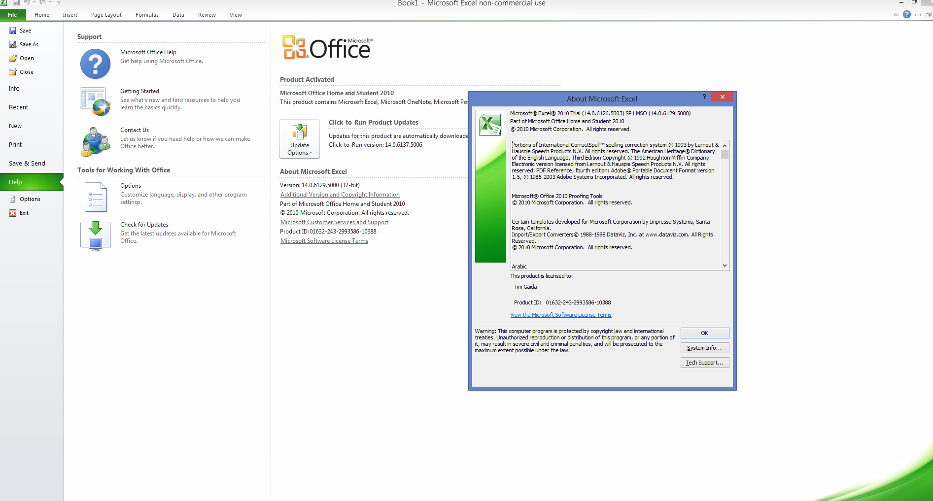 excel installation is required for this operation  failed to launch