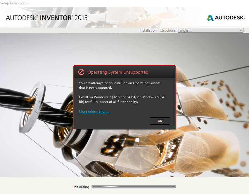 Solved  I Can U0026 39 T Install Inventor 2014 On Windows 10