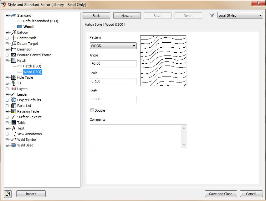Editing Hatch Patterns - Autodesk Community- Inventor