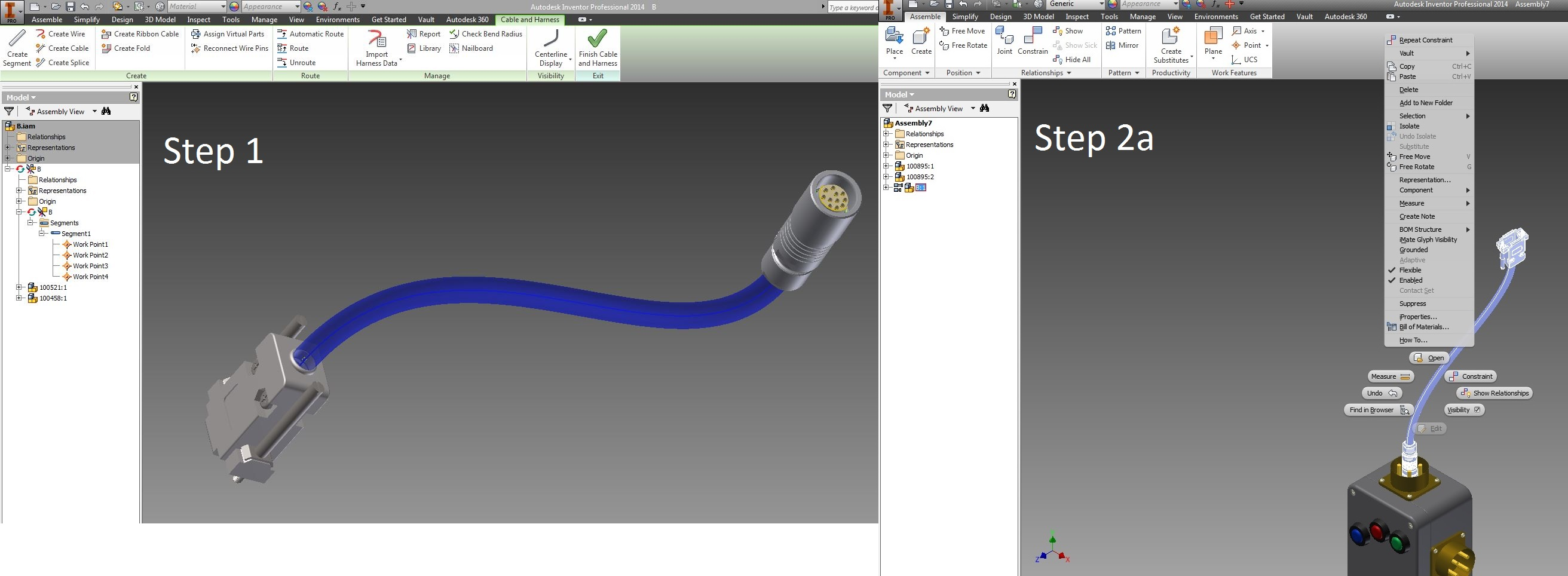 New to Cable and Harness - Autodesk Community- Inventor