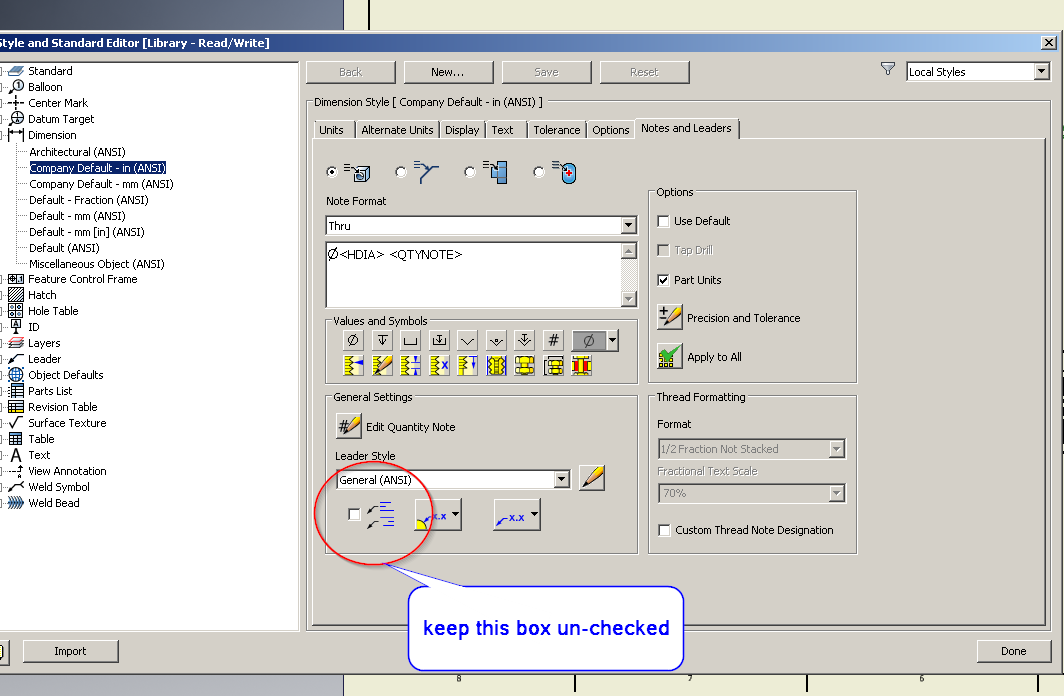 Default Drawing View Label customization - Autodesk
