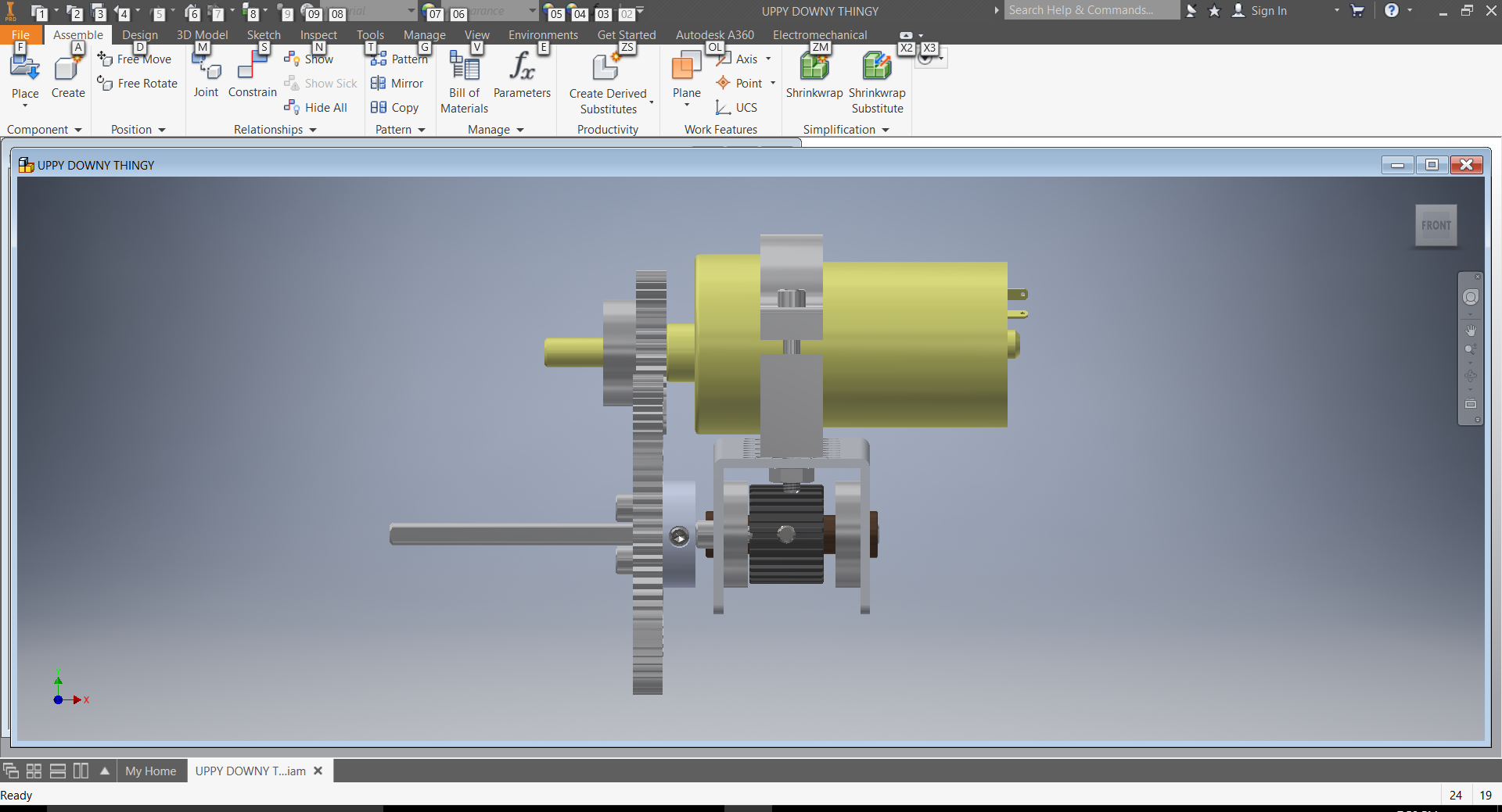 Solved: Rack and Pinion With sliding channel help - Autodesk