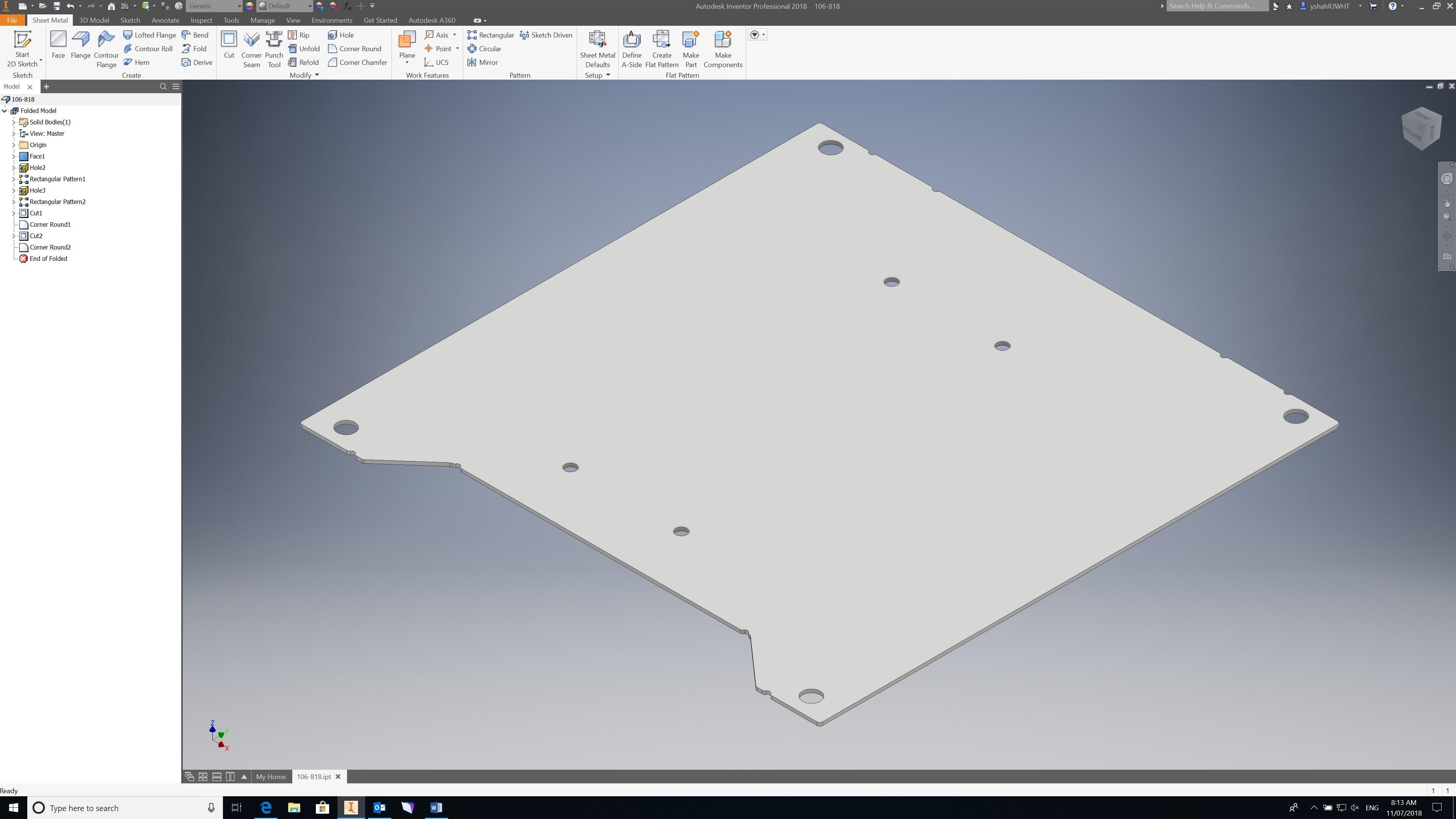 Solved: Sheet metal best practices - Autodesk Community