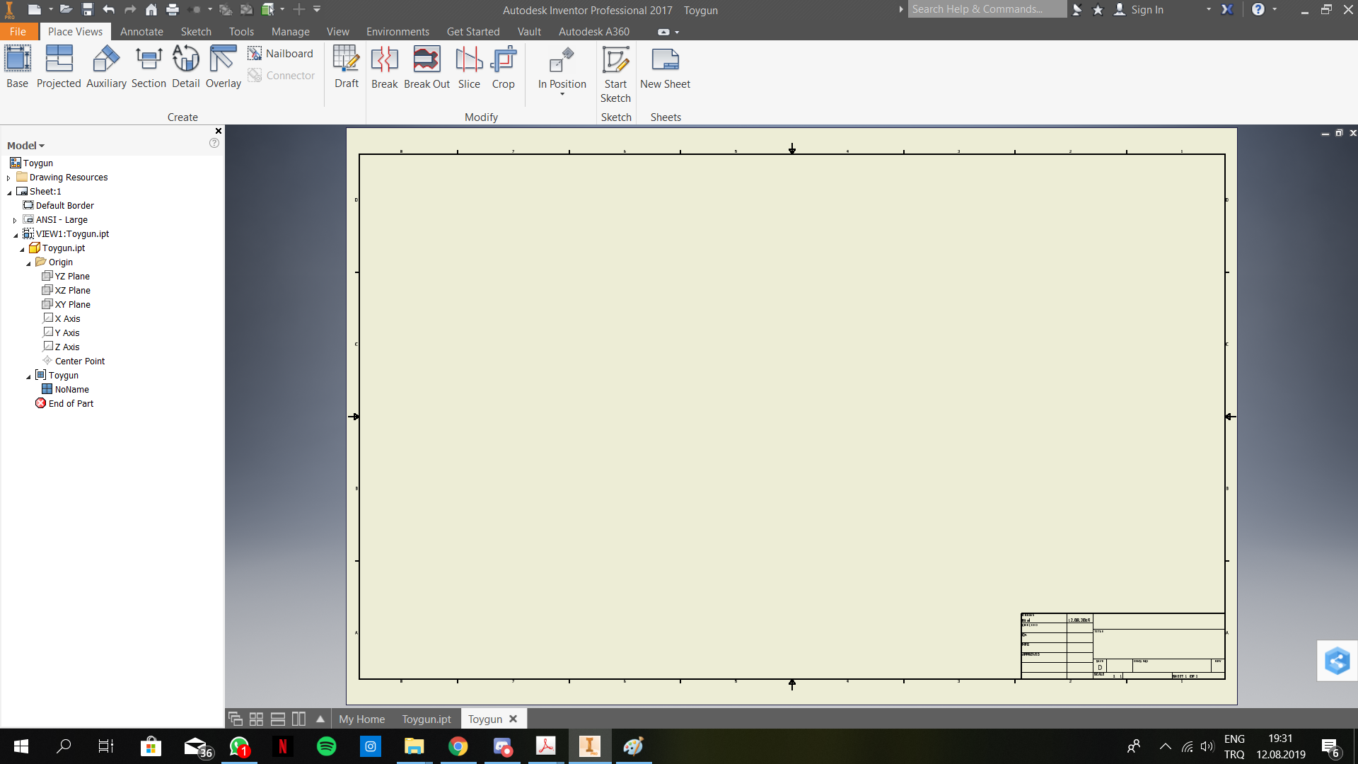 IPT part file is not visible in  IDW drawing - Autodesk Community