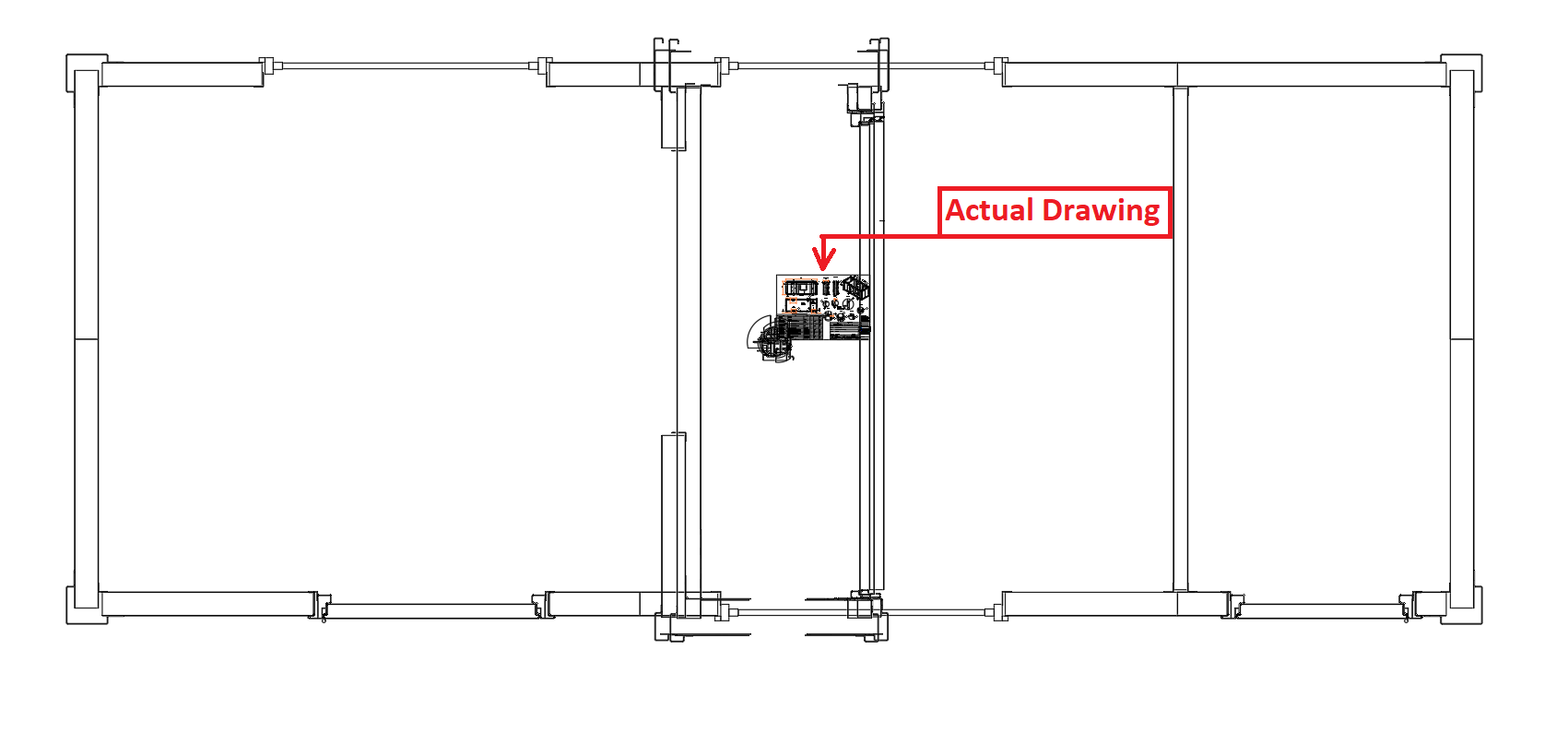 Unwanted lines on Autocad DWG save copy as! - Autodesk Community