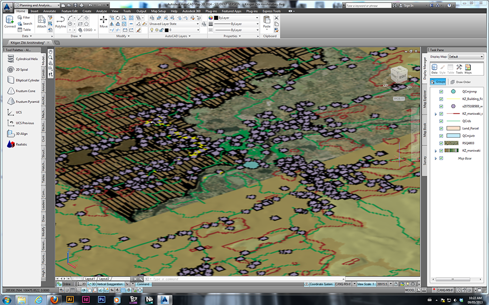poor quality 3d view autocad map 3d 2014 autodesk munity